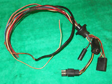 1969 Cougar DASH to NEUTRAL SAFETY BACKUP LIGHT SWITCH SENDING UNIT WIRING PLUGS