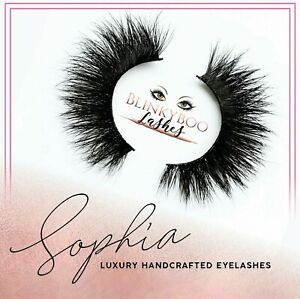 Blinkyboo Luxury 3D Mink Eyelashes - SOPHIA - Tatti Lash Doll Beauty TL3 - TL4