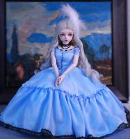 BJD Doll Puppe 60cm Prinzessin Mädchen Mit Handbemalten Make-up Augen Kleidung