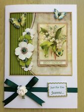 Luxury Hand-Made Birthday Card-Can Be Personalised-Any Relative/Friend/Age