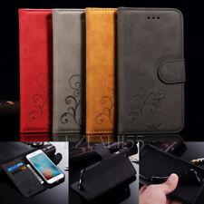 Handy Tasche für Samsung & iPhone Flip Cover Case Leder Schutz Hülle Etui Wallet