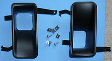 Fog Lamp Delete Set - Black | Geo Metro Suzuki Swift GT GTi | 89-1994 | OE NEW!