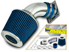 BCP BLUE 98-01 Ford Ranger Mazda B3000 3.0L V6 Ram Air Intake Kit+ Filter