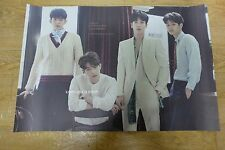 CNBLUE Mini Album Vol. 6 - Blueming  *Official POSTER*  FOLDED POSTER