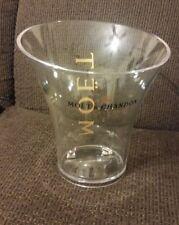 NEW! Moet & Chandon Acrylic Champagne Ice Bucket