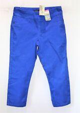 Katies Brand Blue Ultimate Crop Pants Size 8 BNWT #TS33