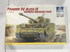 1/35 Italeri No 236 Panzer IV Ausf.H German Medium Tank