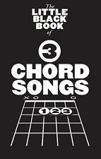 Little Black Book Of 3 Chord Songs Play Pop Rock Folk Guitar Lyrics Music Book