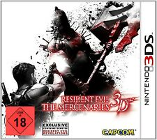 Nintendo 3DS Spiel Resident Evil The Mercenaries 3D - 2DS kompatibel NEUWARE