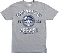 Area 51 t shirt, Property of Area 51 t-shirt, UFO t-shirt, Nevada t-shirt, Alien