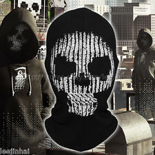New watch dogs 2 hacker mask Marcus Holloway 's Mask Cosplay No eye holes