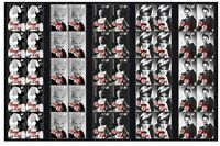 PEGGY LEE JAZZ ICON SET OF 5 MINT VIGNETTE STAMP STRIPS