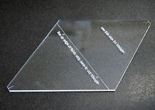 "15"" Rhombus Quilting Template"