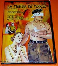 LA TIERRA DE TODOS / THE TEMPTRESS Greta Garbo - Letreros Español, Français -Pre
