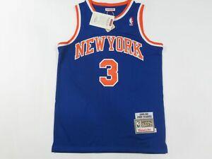 New John Starks #3 New York Knicks 1991-92 Throwback M&N Jersey