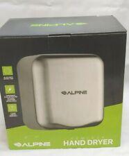 Alpine Hemlock Automatic Hand Dryer, Stainless Steel