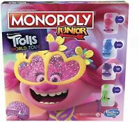 Monopoly Junior Troll World Tour Edizione Tavola Gioco Mono Poly Età 5+ Hasbro