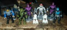 Teenage Mutant Ninja Turtles TMNT Mega Bloks Classic & Halo Lot of 9
