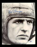 Red Grange PSA DNA Coa Hand Signed 8x10 Autograph Photo