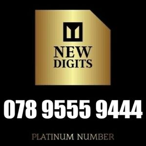 GOLD VIP BUSINESS EASY MEMORABLE MOBILE NUMBER SIM CARD 9555 9444