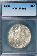 1943-P ICG MS65 Walking Liberty Half Dollar!! #E1284
