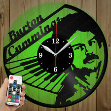 LED Vinyl Clock Burton Cummings LED Wall Art Decor Clock Original Gift 2945
