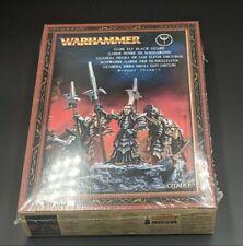 Games Workshop Fantasy Warhammer Dark Elf Black Guard Sealed OOP WFB AoS BNIB