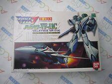 Macross 7 1/144 Valkyrie VF-11C Battroid & Fighter Mode Model Kit Set Bandai