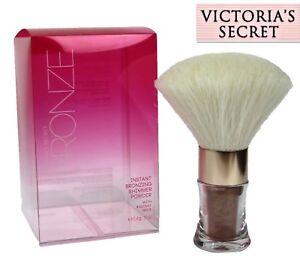NEW Victorias Secret BRONZE Instant Bronzing Shimmer Powder Body Brush Radiant