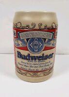 RARE Vintage Budweiser Ceramarte Ornate Beer Stein Mug Collectible