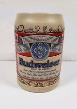 Vintage Budweiser Ceramarte Beer Stein