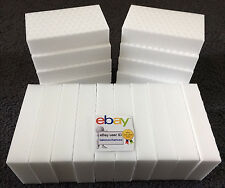 "24 PACK Magic Sponge Eraser Heavy Duty Extra Power Pro Melamine Foam 3/4"" Thick"