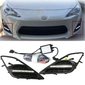 LED Daytime Running Light Fog Lamp DRL Dircect Kit for Scion FR-S Toyoto GT86