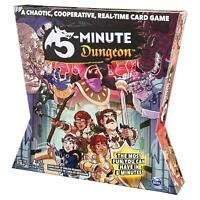 Spin Master Games 5 - Minute Dungeon Fun Card Game for Kids and Adults