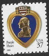 Scott 3784 US Stamp 2003 37c Purple Heart MNH