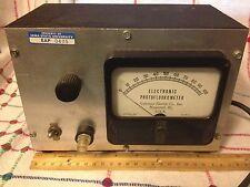 Vintage Coleman Electric Co. Mod. 29 Electronic Photofluorometer - PARTS/RESTORE