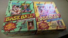 1991 Donruss Baseball Series 1 AND Series 2 36 ct Boxes