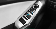 for Mazda3 Axela 2014-2017  ABS Car Door Window Lift Regulator Cover Trims 4pcs