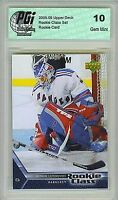 2005-06 Henrik Lundqvist Upper Deck Rookie Class Rangers Rookie Card PGI 10