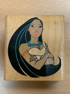POCAHONTAS RUBBER STAMP A1002E DISNEY CHARACTERS RUBBER STAMPEDE