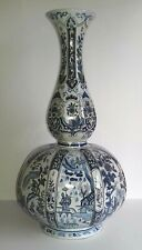 grand vase delft décor aux chinois