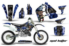 Honda CR500 CR 500 Graphics Kit Dirt Bike Wrap MX Stickers Decals 89-01 MAD K U