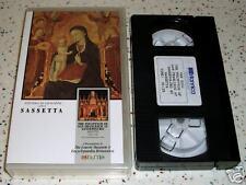 Sassetta Stefano Di Giovanni Palette VHS Art Criticism