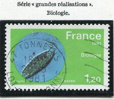 STAMP / TIMBRE FRANCE OBLITERE N° 2127 BIOLOGIE