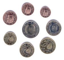 España 2005-Set De 8 Monedas De Euro (unc)