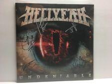 HELLYEAH : Undeniable LP Band Signed Pantera Vinne Paul Abbott RIP 6/23/18