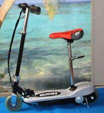 scooter elettrico 120 w monopattino carena in abs pieghevole sella estraibile