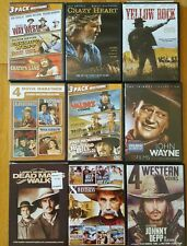 Dvd lot of great Westerns including 50 titles in nine different sets! See photos