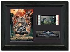 Jurassic World Fallen Kingdom Stunning framed 35 mm Film Cell Display S1