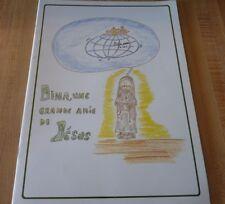 Rare Soft Cover French Book Dina Bélanger Une Grande Amie de Jésus 20 pages